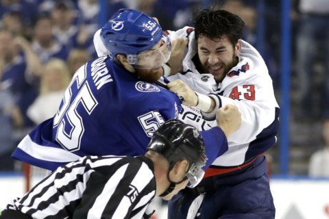When the gloves come off: Breaking down Caps' Game 7 brutal brawl