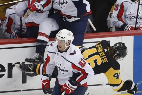 Capitals Tom Wilson suspended for 3 games for hit on Penguins Zach Aston-Reese