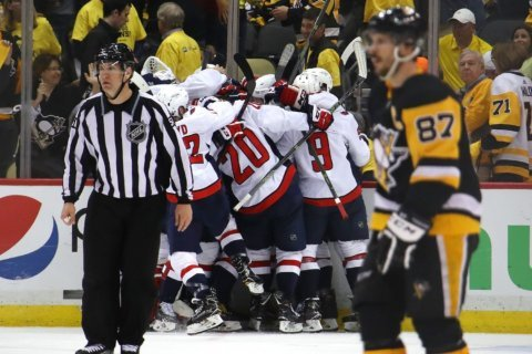 Ovechkin, Caps finally break through to Conference Finals in Pittsburgh