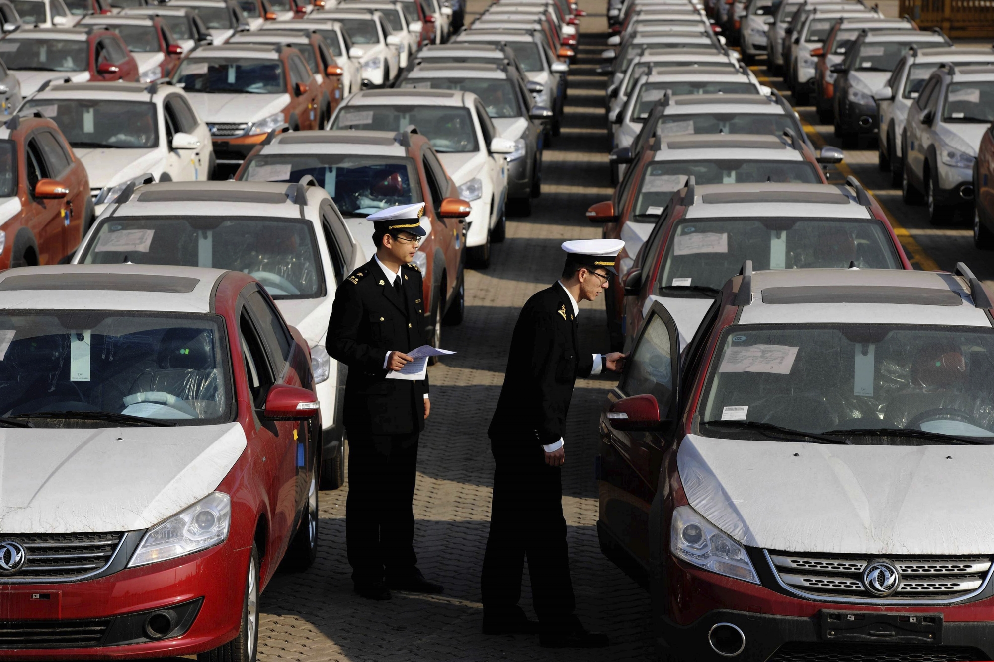 Protests worldwide against US idea of auto import tariffs | WTOP