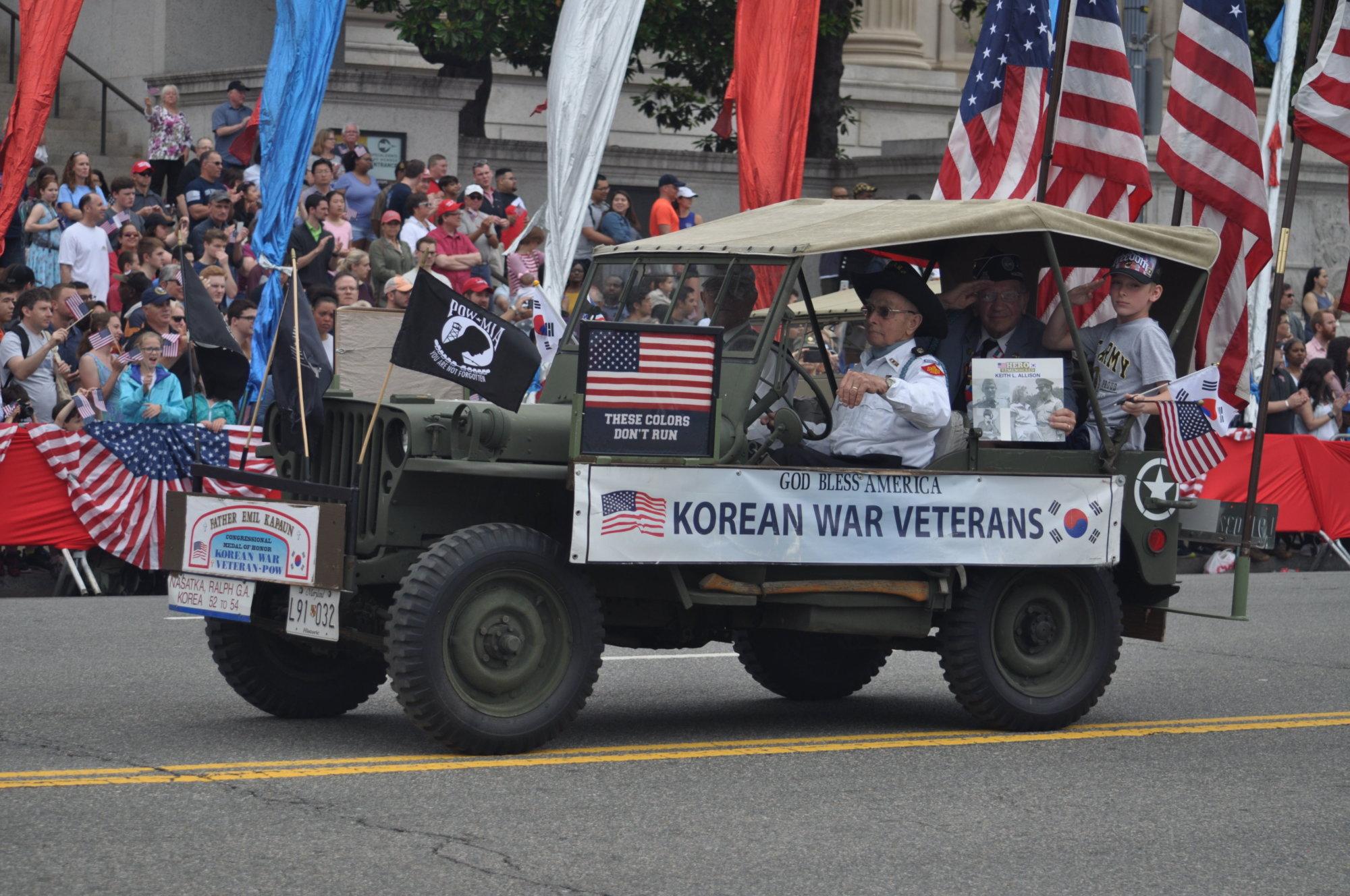 PHOTOS: National Memorial Day Parade 2018