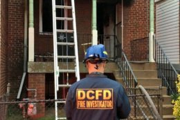 The fire originated in the first floor. (Courtesy DC Fire and EMS)