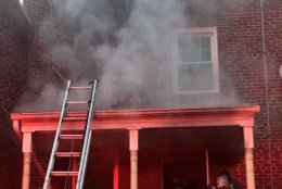 The fire happened on the 1600 block of Rosedale Street Northeast. (Courtesy DC Fire and EMS)