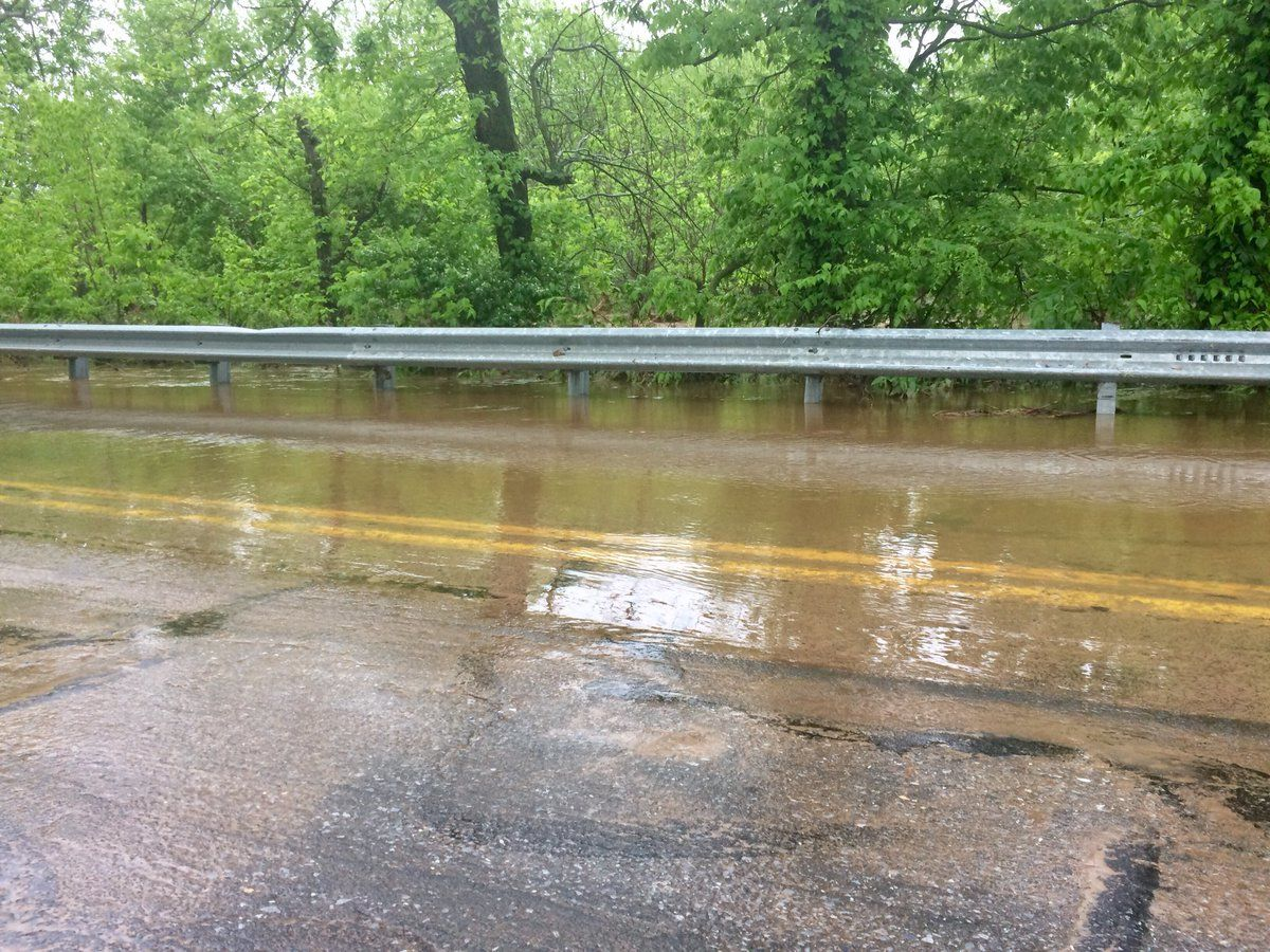 """""""While Tuesday's rain was relatively short in duration and very intense, its effects are still being felt by many of our residents and businesses, and will be for some time,"""" City of Frederick Mayor Michael O'Connor said. (WTOP/Nick Iannelli)"""
