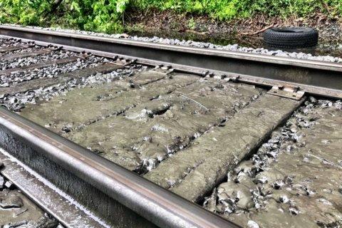 MARC's Brunswick Line to follow modified schedule Monday following mudslides