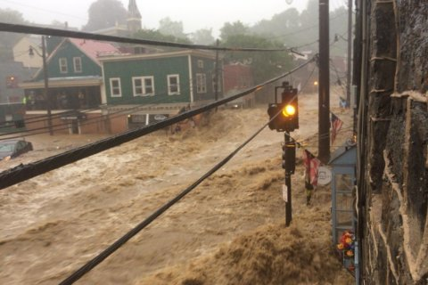 Massive floods strike Ellicott City; State of Emergency declared