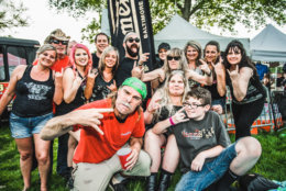 Fans at M3 Rock Festival. (Courtesy Shane K Gardner)