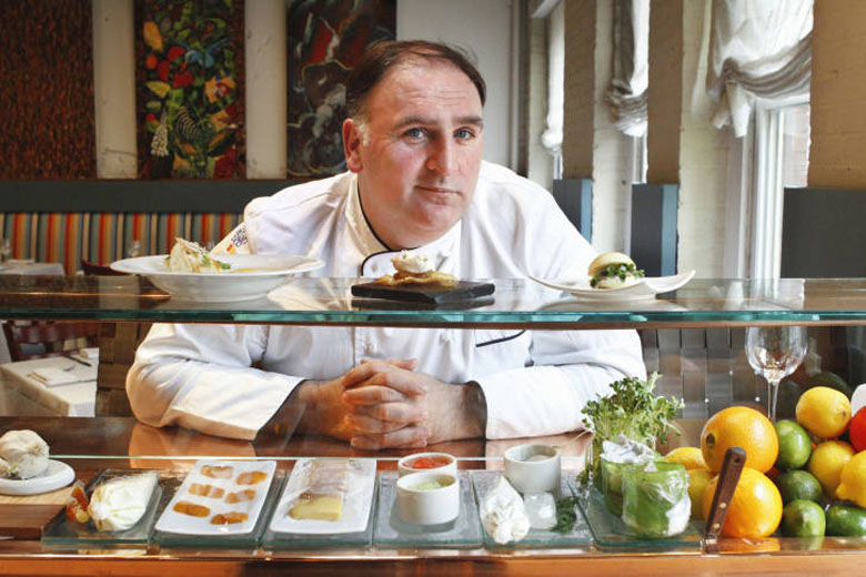 Fish by José Andrés at MGM National Harbor has opened their Patio for the season. With sweeping views of the Potomac River and communal tables outfitted with built-in beverage coolers, The Patio at Fish by José Andrés offers a vibrant setting to try local favorites such as Maryland blue crabs, lobster and shrimp. Additionally, The Patio features a Spanish cider experience, an array of hand-crafted cocktails and a carefully selected wine list. FILE. (AP Photo/Jacquelyn Martin, File)