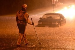 Frederick County, Maryland, saw flash flooding Tuesday, May 15, 2018. (Courtesy of Graham Cullen/The Frederick News-Post)