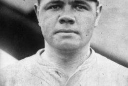 Babe Ruth (George Herman Ruth, 1895 - 1948) American professional baseball player for the Boston Red Sox, mid 1910s.  (Photo by Topical Press Agency/Getty Images)