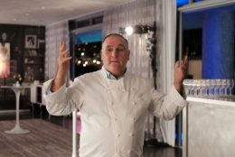 MIAMI, FL - DECEMBER 08:  Jose Andres attends FOOD MEETS ART, hosted by Jose Andres for American Express Platinum Card Members at the SLS South Beach Hotel on December 8, 2017 in Miami, Florida.  (Photo by Jason Kempin/Getty Images for American Express Platinum)