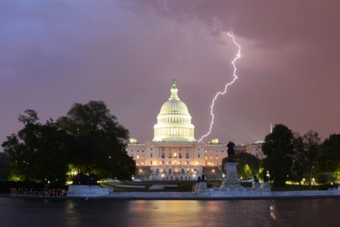 Severe-weather warnings issued as rough storms hit DC area