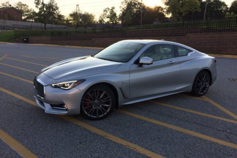 Infiniti Q60 Red Sport AWD: Luxury coupe with an attitude