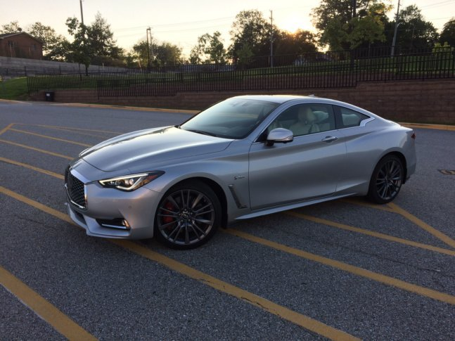Car Guy Mike Parris Said The Infiniti 400 AWD Is A Comfortable Luxury Coupe  With Some Serious Performance At 400 Horsepower. (WTOP/Mike Parris)