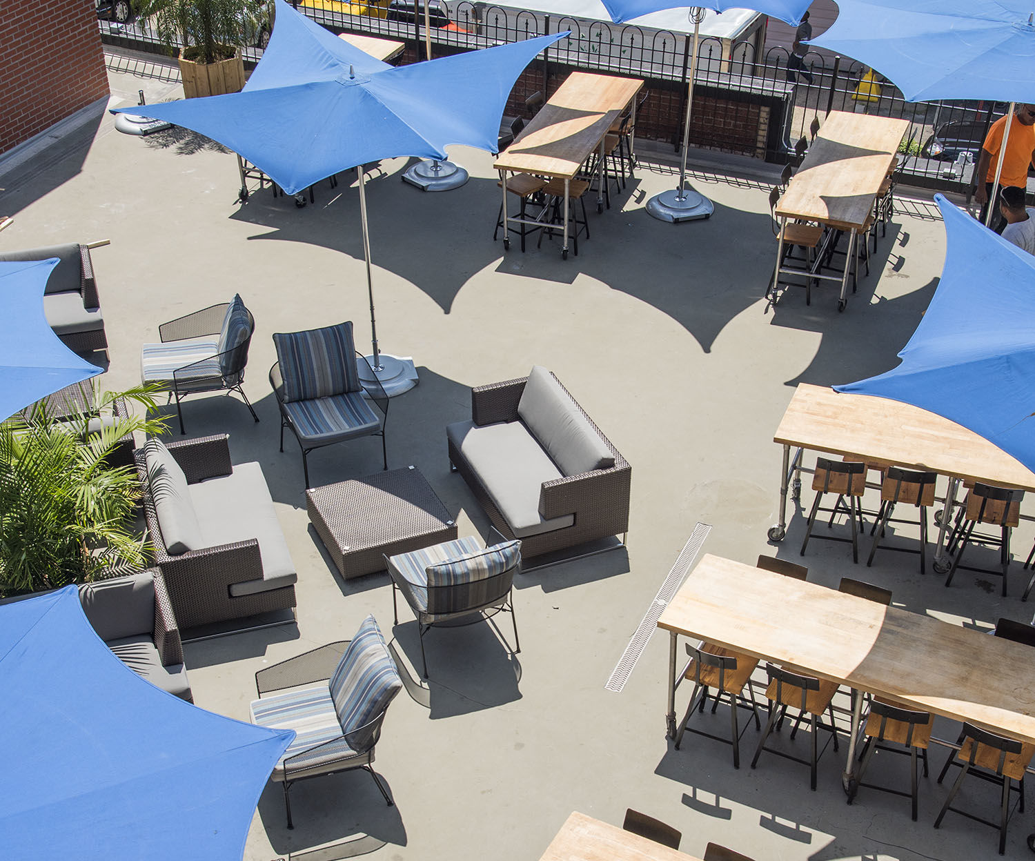 The Tavern at Ivy City is the outdoor space to whack away at steamed crabs, peel and eat the shrimp and crack into a fresh Maine lobster. Ivy City's first neighborhood restaurant, they smoke their own seafood, and serve the freshest local and seasonal fish available. Really, their parent company is Profish one of the biggest seafood purveyors on the East Coast. (Courtesy The Tavern at Ivy City)
