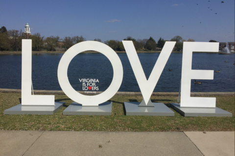 Artwork celebrates 'Virginia is for Lovers' 50th anniversary