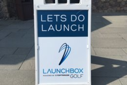 Launchbox Golf opened for business this month. (WTOP/Noah Frank)