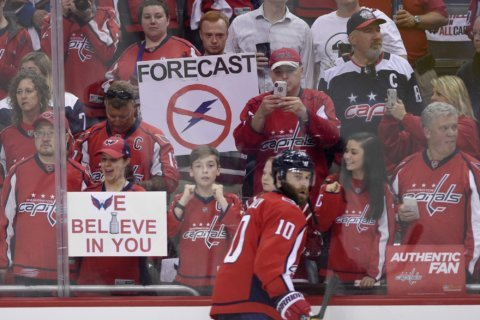 Why free earplugs will be handed out to Caps fans during Game 3