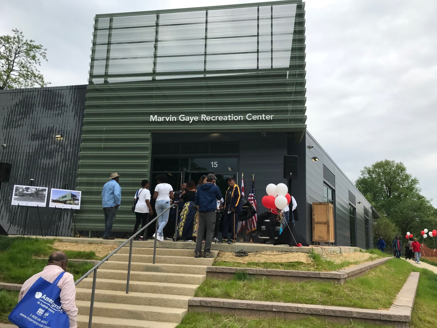 The new Marvin Gaye Recreation center opens Saturday, May 5, 2018. (WTOP/Dick Uliano)