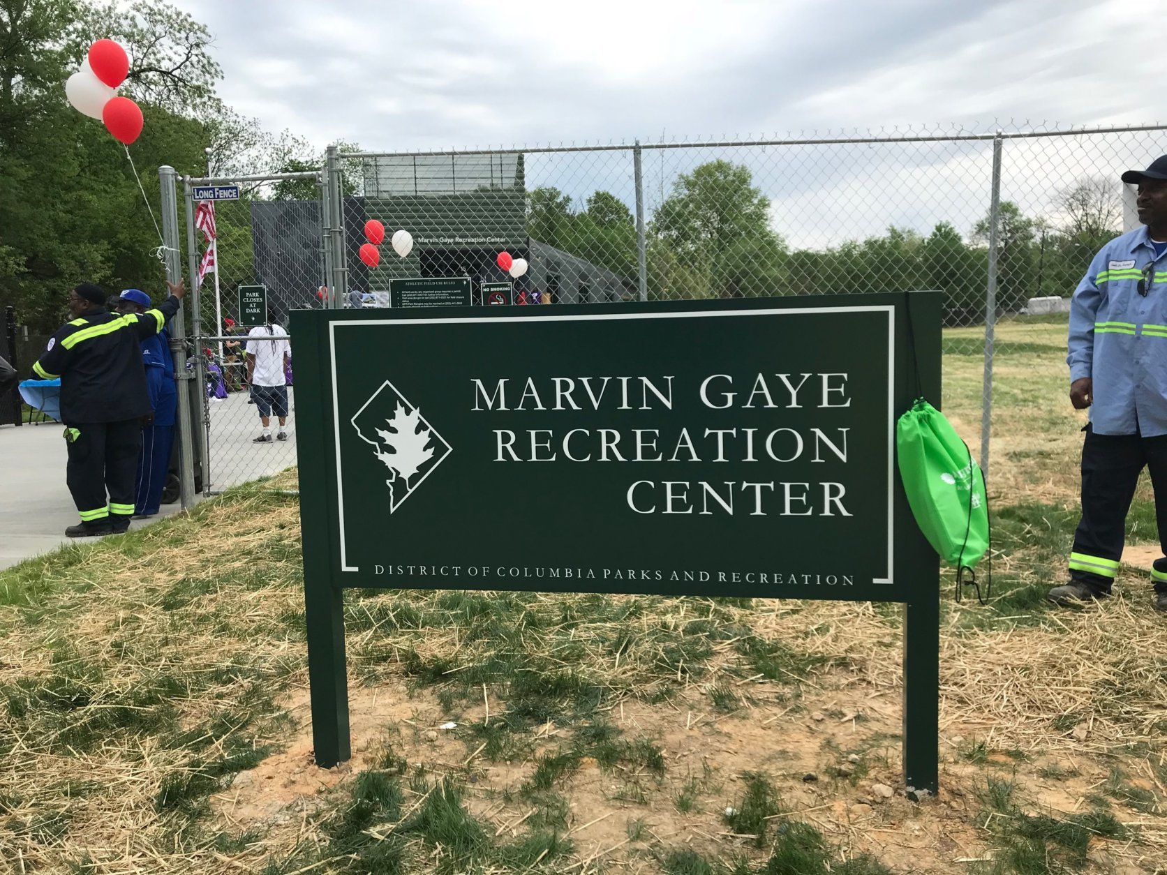 The $14-million Marvin Gaye Recreation Center in Northeast D.C. officially opens Saturday, May 5, 2018. (WTOP/Dick Uliano)