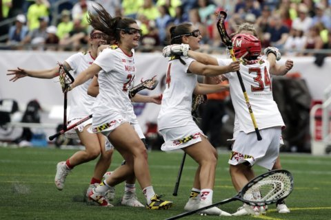 Maryland women off to 10th straight national lacrosse semifinal