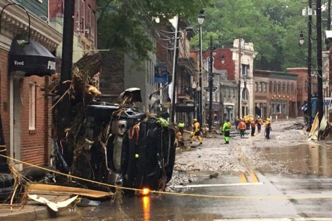 Residents will get first full day on Sunday in historic Ellicott City since flood