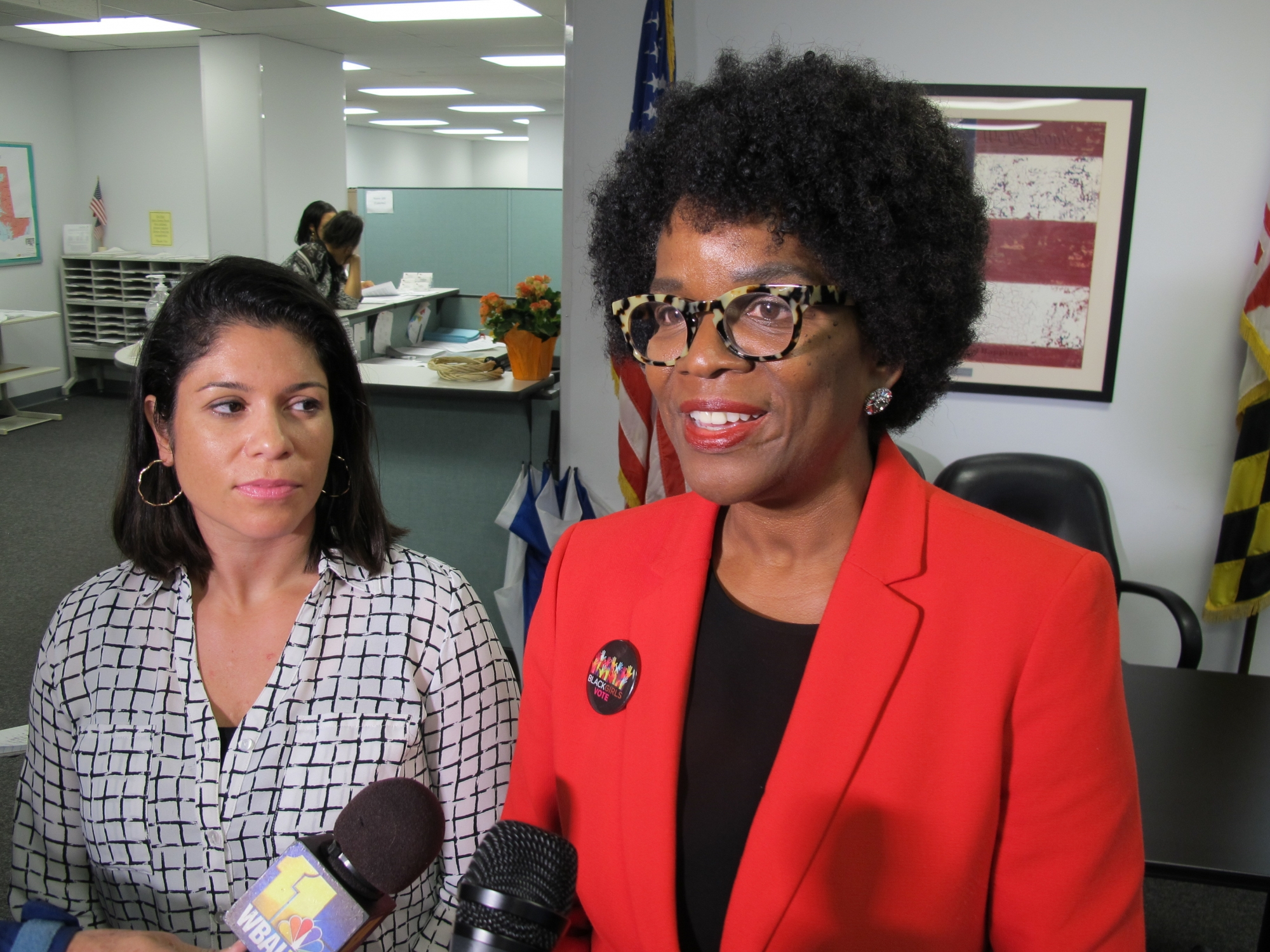 Running in Kamenetz's place, Ervin's name not set to be at top of Md. ticket