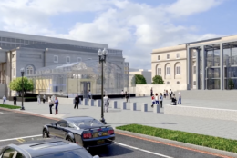 The museum will be located directly across the street from the National Law Enforcement Memorial on 4th and E streets in Northwest.(Courtesy National Law Enforcement Museum)