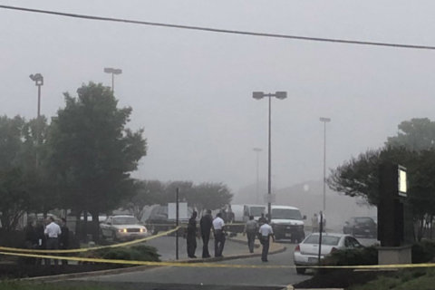 Man suspected in string of fast food robberies fatally shot by police at Md. Checkers