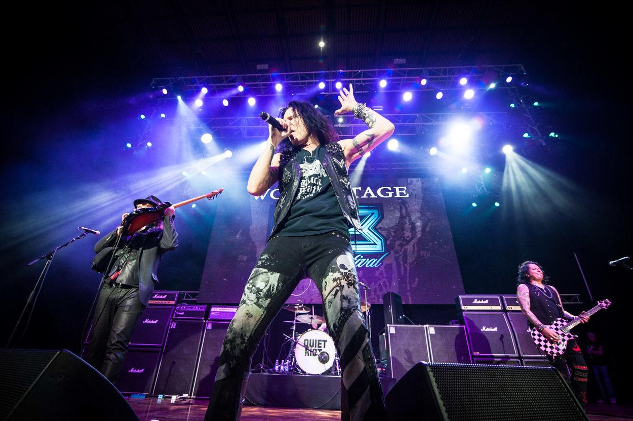Quiet Riot at M3 Rock Festival. (Richie Downs)