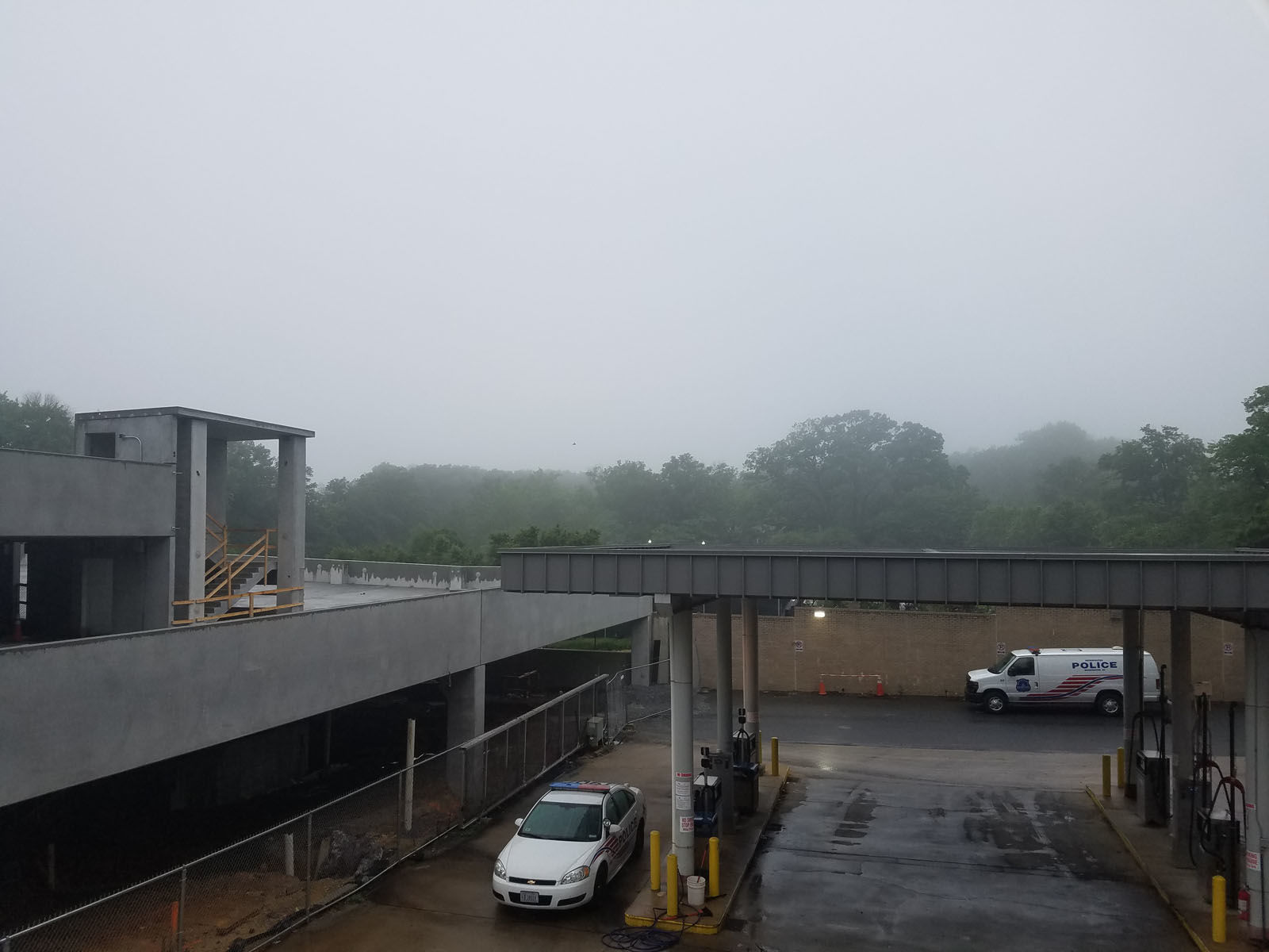 A gloomy day in Northwest D.C. (WTOP/Will Vitka)