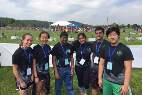 Students aim high at national rocket competition in Va.
