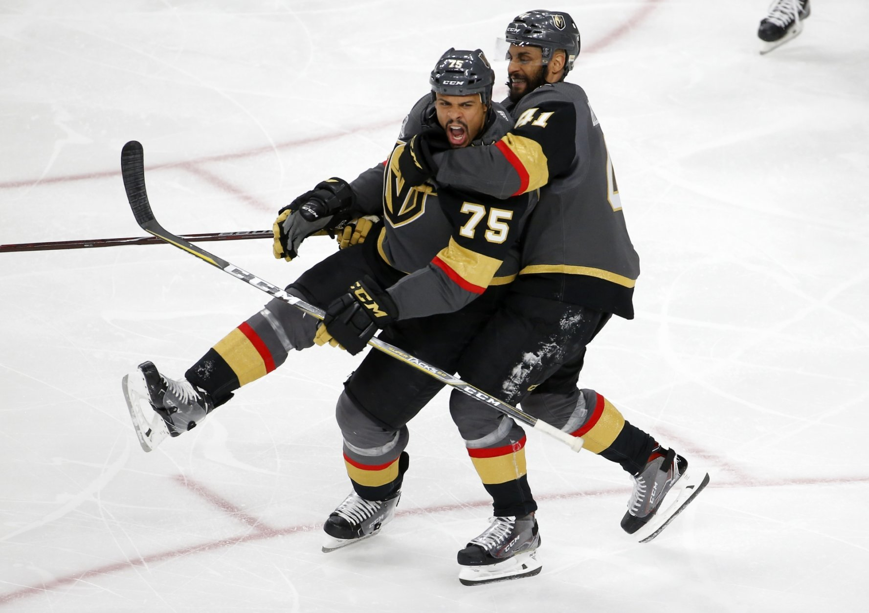 Ryan Reaves, Pierre-Edouard Bellemare
