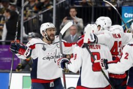 Alex Ovechkin, Tom Wilson, Dmitry Orlov