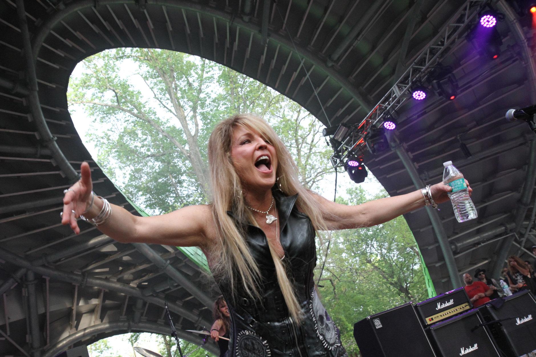 Vixen at M3 Rock Festival. (Dave Barnhouser/13th Hour Photography)