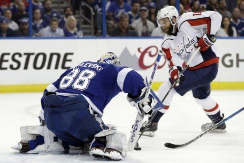 AUDIO: Highlights of Capitals-Lightning Game 2 East Final