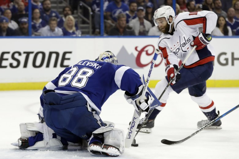 AUDIO  Highlights of Capitals-Lightning Game 2 East Final  097839c26c1