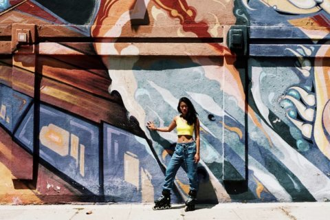 Mission on wheels: Woman skates through DC for charity, trust and a world record