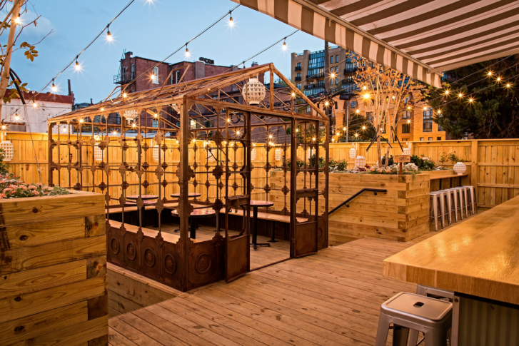 Etonnant Calico, An Urban Backyard Tucked Away In Blagden Alley, Features A  3,000 Square Foot Patio With Communal Tables Surrounding A Large Vintage  Greenhouse.