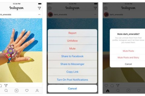 Instagram introduces mute feature to quiet down your feed without unfollowing friends