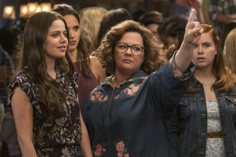 Movie Review: Melissa McCarthy goes back to college in 'Life of the Party'