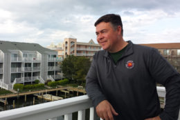 "Mike McEwen, an athletic director for a public school in Baltimore County, bought a place in Ocean City after years of renting. His advice to fellow buyers: ""Definitely shop around. See as many places as you can possibly see. Weigh your options carefully and go for it."" (WTOP/Colleen Kelleher)"