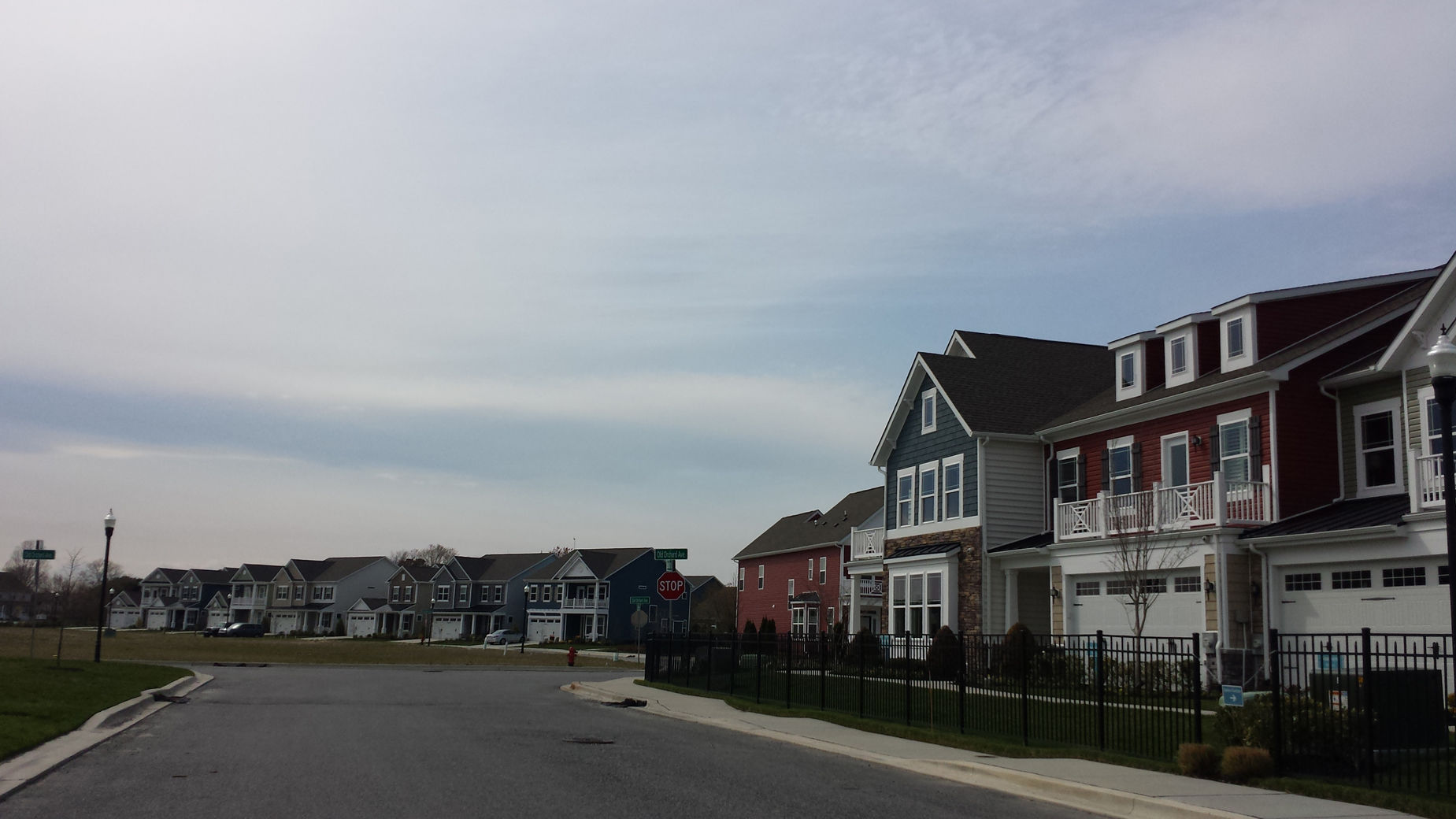 new homes in Sussex County are seen