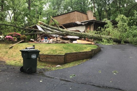 'We drank whiskey instead': Homeowners cope after storm damage