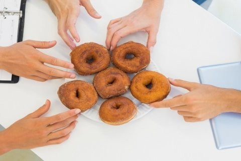 Food at work adds up to a lot of extra, often empty, calories: Study