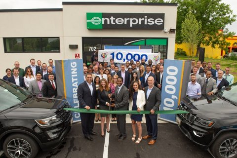 Enterprise opens 10,000th location — and it's on Rockville Pike