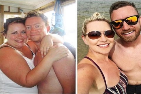 Husband, wife work together to lose 135 pounds