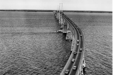 Remembering when there wasn't a Chesapeake Bay Bridge