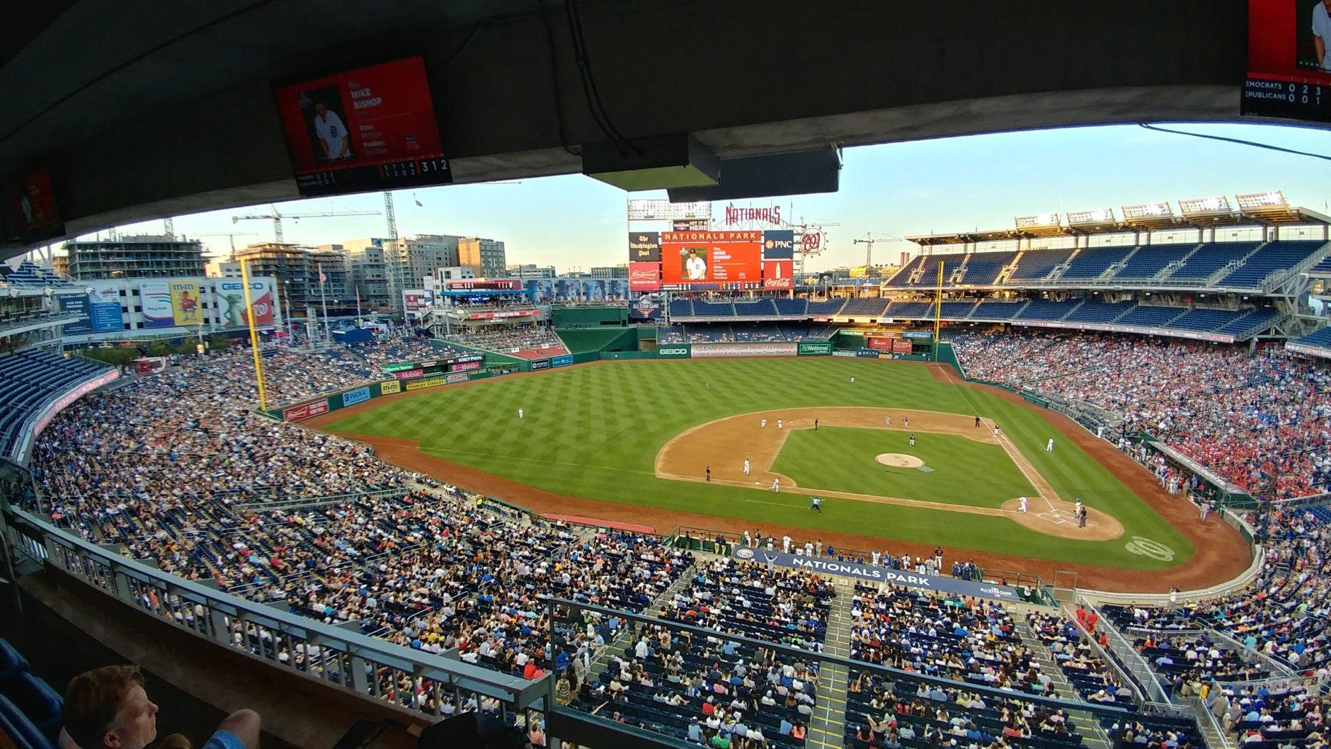 FILE — The 57th Congressional Baseball Game at National's Park in Washington, Thursday, June 14, 2018. (WFED/Lauren Larson)