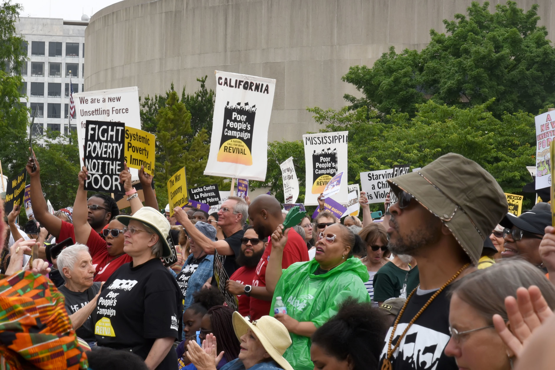 Scenes from the Poor People's Rally and March